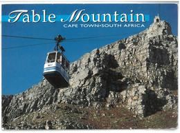 South Africa Cape Town Table Mountain Viaggiata 1995 - Sud Africa