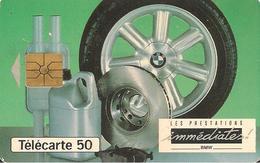 CARTE^-PUCE-PRIVEE-PUBLIC- 50U-EN 820-GEMA-12/93-BMW PRESTATIONS-UTILISE-BE - 50 Einheiten