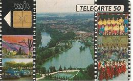 CARTE^-PUCE-PRIVEE-PUBLIC- 50U-EN51-GEM-5/91-L ILE SUR TARN MJC-UTILI SE-TBE - France