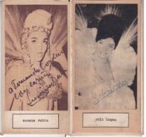 SUSANA RUBIO;YOLI LOGAN. AUTOGRAPHE AUTOGRAFO SIGNEE SIGNATURE AUTHENTIQUE ORIGINAL.-BLEUP - Autographes