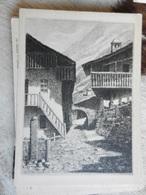16902) VALLE D'AOSTA VALSAVARANCHE DEGIOZ PIAZZETTA NON VIAGGIATA BELLISSIMA - Italia