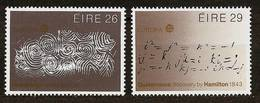 IRELAND 1983 - EUROPA Cept / Great WORKS Of HUMAN SPIRIT - 2v Mi 508--509 MNH ** Cv€15,00 H236 - 1949-... Republic Of Ireland