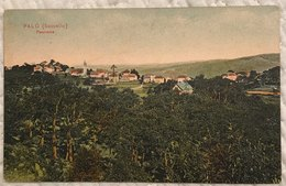 Palo (Sassello-Savona) Panorama Viaggiata 1914 - Italien