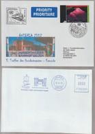 D 1327) SSt Wien ÖVEBRIA 2002 Hundertwasser-Freunde-Treffen Bahnhof Nach Uelzen - Modernos
