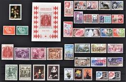 MONACO 1973 / ANNEE COMPLETE / 37 TP / DU  N° 916 A N° 952 + BLOC N° 7 - NEUFS** - Monaco