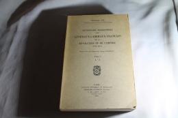 Dictionnaire Biographique Des Généraux Et Amiraux De La Révolution Et De L'empire 1934 Tome I - Documentos