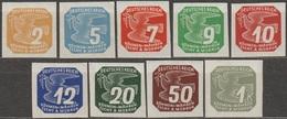 1/ Bohemia & Moravia - Newspaper Stamp; ** Nr. N 10-18 - Unused Stamps