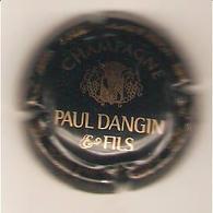 CAPSULE MUSELET CHAMPAGNE PAUL DANGIN ET FILS ( Or Sur Noir ) - Champagne