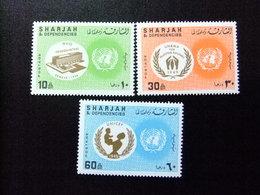 SHARJAH 1968 NACIONES UNIDAS Nations Unies Yvert 198 ** MNH - Sharjah