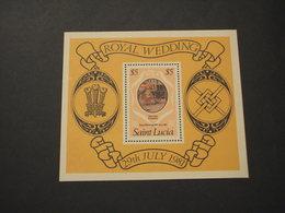 ST. LUCIA - BF 1981 MATROMONIO - NUOVI(++) - St.Lucia (1979-...)