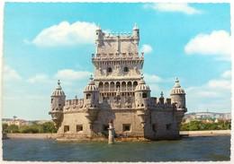 #232   Lisboa, PORTUGAL -  Belem Tower Seen From River Tagus - Lisboa
