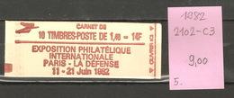 France, Année 1982, Exposition Philatélique - Carnets