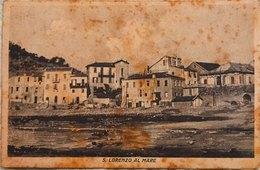 San Lorenzo Al Mare (Imperia) Viaggiata - Italien