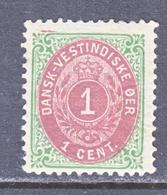 U.S. DUTCH WEST INDIES  16  *  INVERTED - Danish West Indies