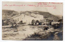 SAINT MIHIEL-1901--Moulin De PICHAUMEUX Par Peintre RENAUDIN Né à La Neuveville-lès-Raon--Salon 1901 - Saint Mihiel