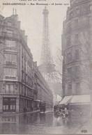 Paris-Grenelle - Rue Monttessuy - Inondations De 1910