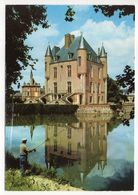 BELLEGARDE DU LOIRET  -1997--Le Chateau (petite Animation,pêcheur) - Autres Communes