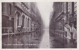 La Rue De Lille - Inondations De 1910