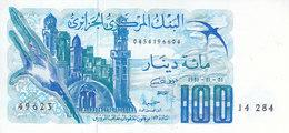 ALGERIA 100  DINAR 1981 P-131 UNC */* - Algeria