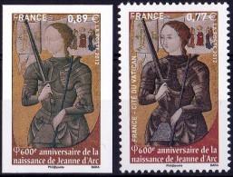 VARIETE N°4582a JEANNE D'ARC NON EMIS 0,89€ AU LIEU DE 0,77€ LUXE** - Variétés Et Curiosités