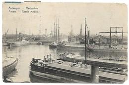 Belgium Postcard 1923. Antwerpen Mexicodok Harbour Ships. Belgie Anvers Basin Mexico. 0265180426 - Antwerpen