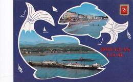 Postcard Douglas IOM Isle Of Man Nice Stamps My Ref  B22552 - Isle Of Man