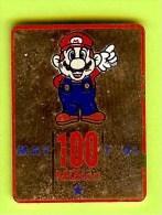Pin's BD Mario 100 Million May 1992 (Usé) - 10D11 - BD