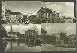 Deutschland DDR SCHWERIN - 4 Ansichtskarten - 1990 Nach Estland Gesendet. Alle Mit Michel 3345 Frankiert - Schwerin