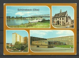Deutschland DDR Ansichtskarte SCHÖNEBECK (Elbe) Sauber Unbenutzt - Schoenebeck (Elbe)