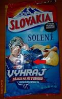 301 SLOVAKIA-ice Hockey, WM Denmark 2018 Potato Salty Chips, Goalkeeper Ján Lašák, Competition 2018 - Other
