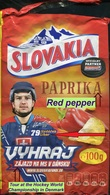 302 SLOVAKIA-ice Hockey, WM Denmark 2018 Chips Potato-pepper, Striker Libor Hudáček, Competition 2018 - Other
