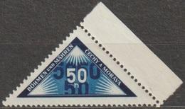 3/ Bohemia & Moravia - Delivery Stamp; ** Nr. DR 1; Border Stamp - Unused Stamps