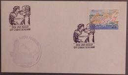 Portugal - Diogo Cão - Stamp Day Lisboa 1988 - Descobrimentos Padrão - Célébrités
