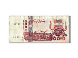 Billet, Algeria, 1000 Dinars, 1998, 1998-10-06, KM:142b, TB - Algeria