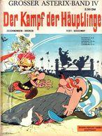 Grosser Asterix-Band IV - Der Kampf Der Häuptlinge - Erstauflage Von 1969 - Ehapa Verlag - Asterix