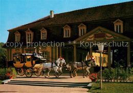 73112305 Postkutsche Brunnenhalle Bad Bocklet  Postkutsche - Professions