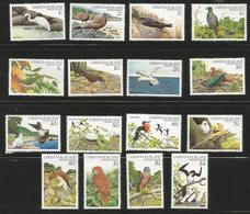 Christmas Island - 1982-3 Birds   MNH **    Sc 117-32 - Christmas Island