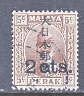JAPANESE  OCCUP.  PERAK  N 32   (o) - Great Britain (former Colonies & Protectorates)