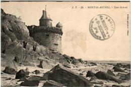 51zh 1O16 CPA - LE MONT SAINT MICHEL - TOUR GABRIEL - Le Mont Saint Michel