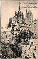 51zth 127 CPA - LE MONT SAINT MICHEL - VUE GENERALE ET LE TOUR DES REMPARTS - Le Mont Saint Michel