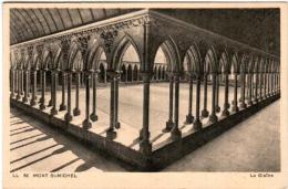51zth 131 CPA - LE MONT SAINT MICHEL - LE CLOITRE - Le Mont Saint Michel