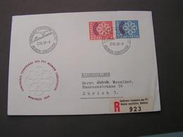 CH Europa FDC 1959 681-682 Michel € 30,00 - FDC