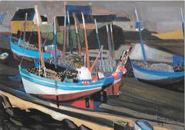 Peintres De Bretagne - KERINEC - Les Langoustiers De Mogueriec - Pintura & Cuadros