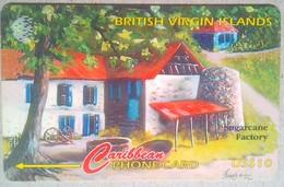 193CBVJ Sugarcame Factory US$10 - Vierges (îles)