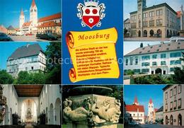 73196699 Moosburg_Isar Stiftskirche St. Kastulus Rathaus Marktplatz Moosburg Isa - Deutschland