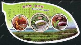 North Korea 2018 Kangryong Green Tea S/S MNH - Korea, North