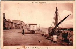 5HK 743 CPA - PORT  LA NOUVELLE - LE QUAI - Port La Nouvelle