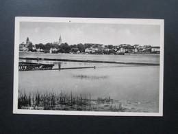 Ostpreussen Osterode Ostpr. Panorama Vom Wasser Aus. Kunstverlag Bruno Scholz Breslau.Nr. 45 - Ostpreussen