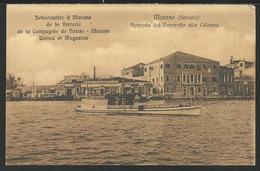 MURANO (Venezia): Approdo Del Vaporetto Alla Colonna - Venezia
