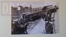 AV211.16  Italia  TRIEST-PARENZO    Train Accident  1910   - Railway - Hungary Trasportation Museum Archiv Photo Ca 1970 - Trains